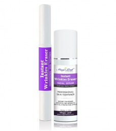 PACKAGE of Instant Wrinkles Eraser Facial Serum AND Instant Pen